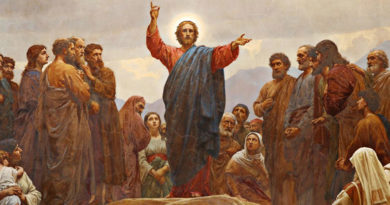 Turn The Other Cheek - A Lecture And A Prophesy Of Christ
